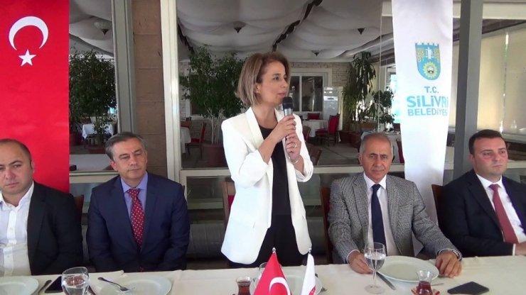 SİLİVRİ'DE PROTOKOL BAYRAMLAŞMASI