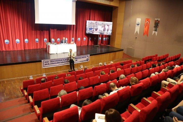 """Büyükçekmece Belediyesi """"Stratejik Plan"""" çalıştayı gerçekleştirildi"""