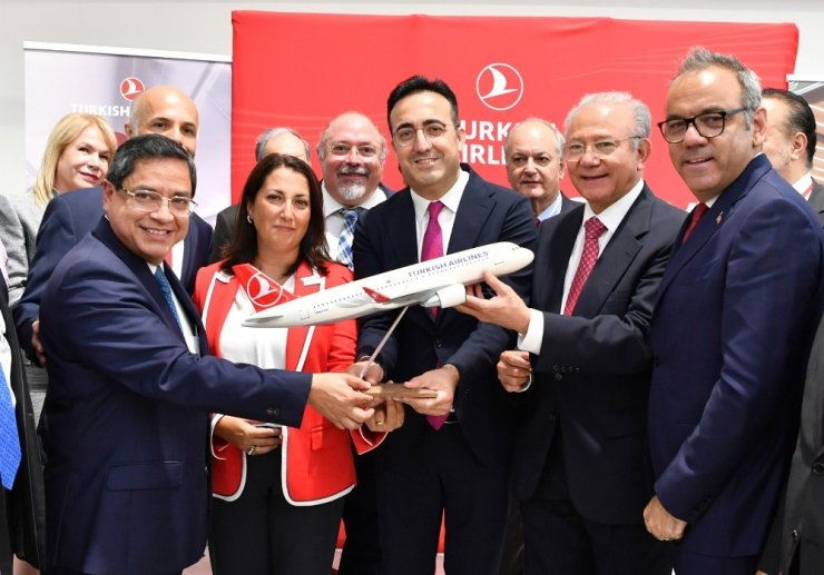 Türk Hava Yolları uçuş ağını genişletiyor