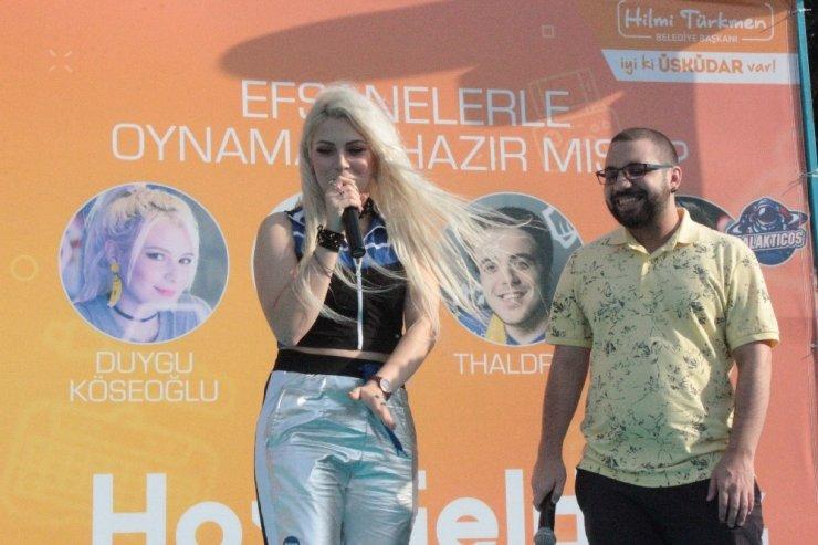 Üsküdar'da binlerce kişi E-spor festivalinde buluştu