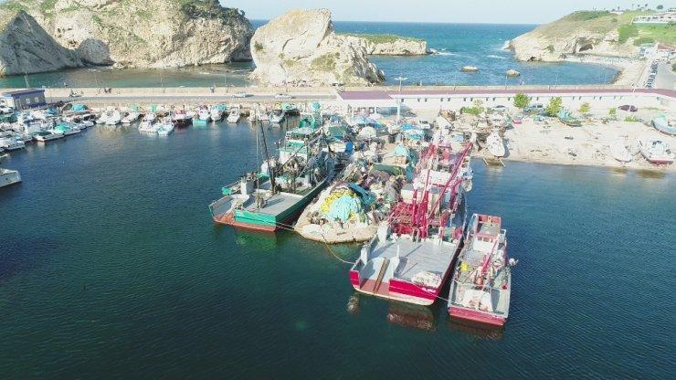 Balıkçılar yeni sezonda lüfer ve hamsiden umutlu