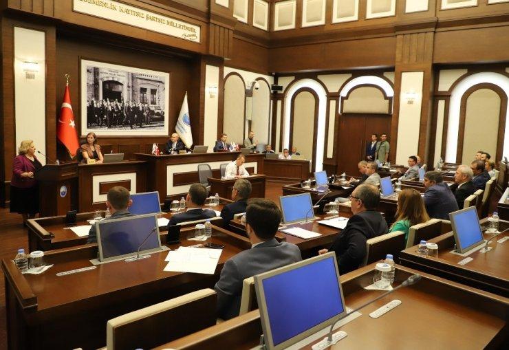 Büyükçekmece'de Eylül ayı ikinci meclis toplantısı gerçekleşti