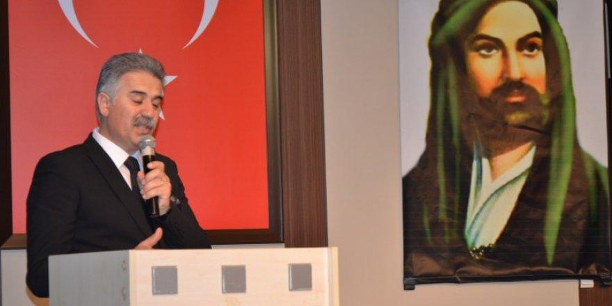 Deprem Paneli Açılış Konuşması,  Dede Zeynal Şahan